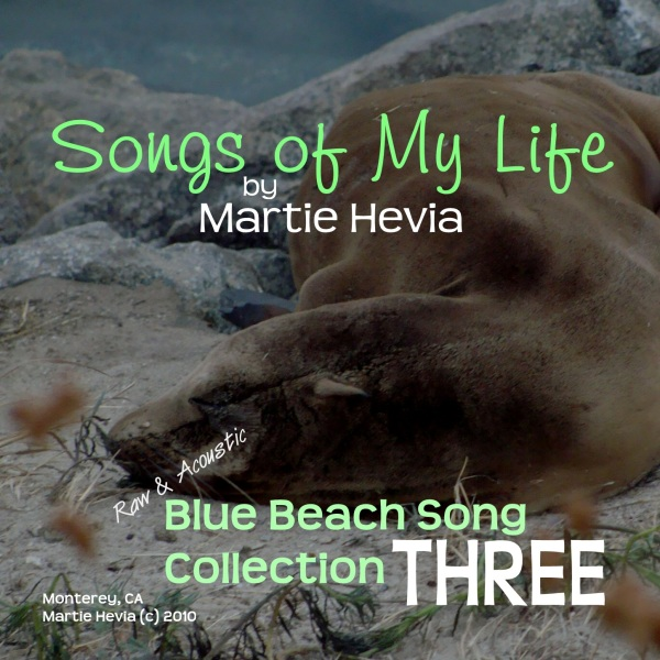 Blue Beach Song Collection: THREE - CD/MP3 Front Cover Art